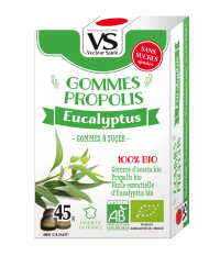 Gommes Propolis Eucalyptus