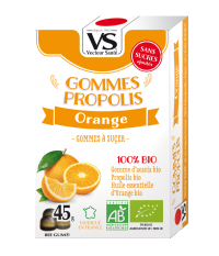 Gommes Propolis Orange